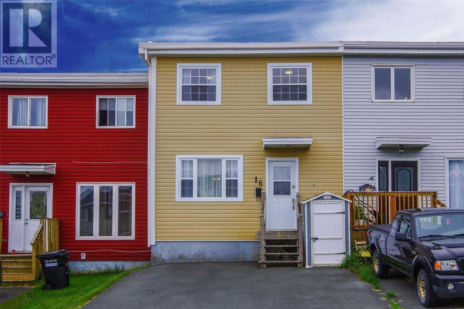 House for sale at 16 Nascopie Cres St. John's Newfoundland - MLS: 1217045