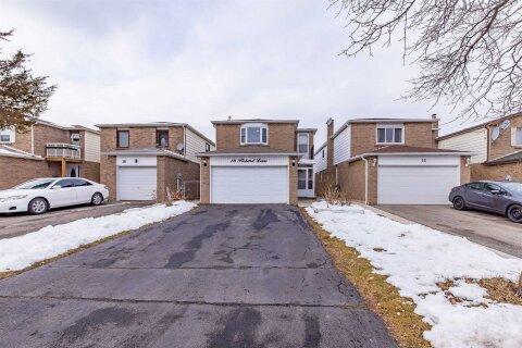 House for sale at 16 Pickard Lane Ln Brampton Ontario - MLS: W5084036
