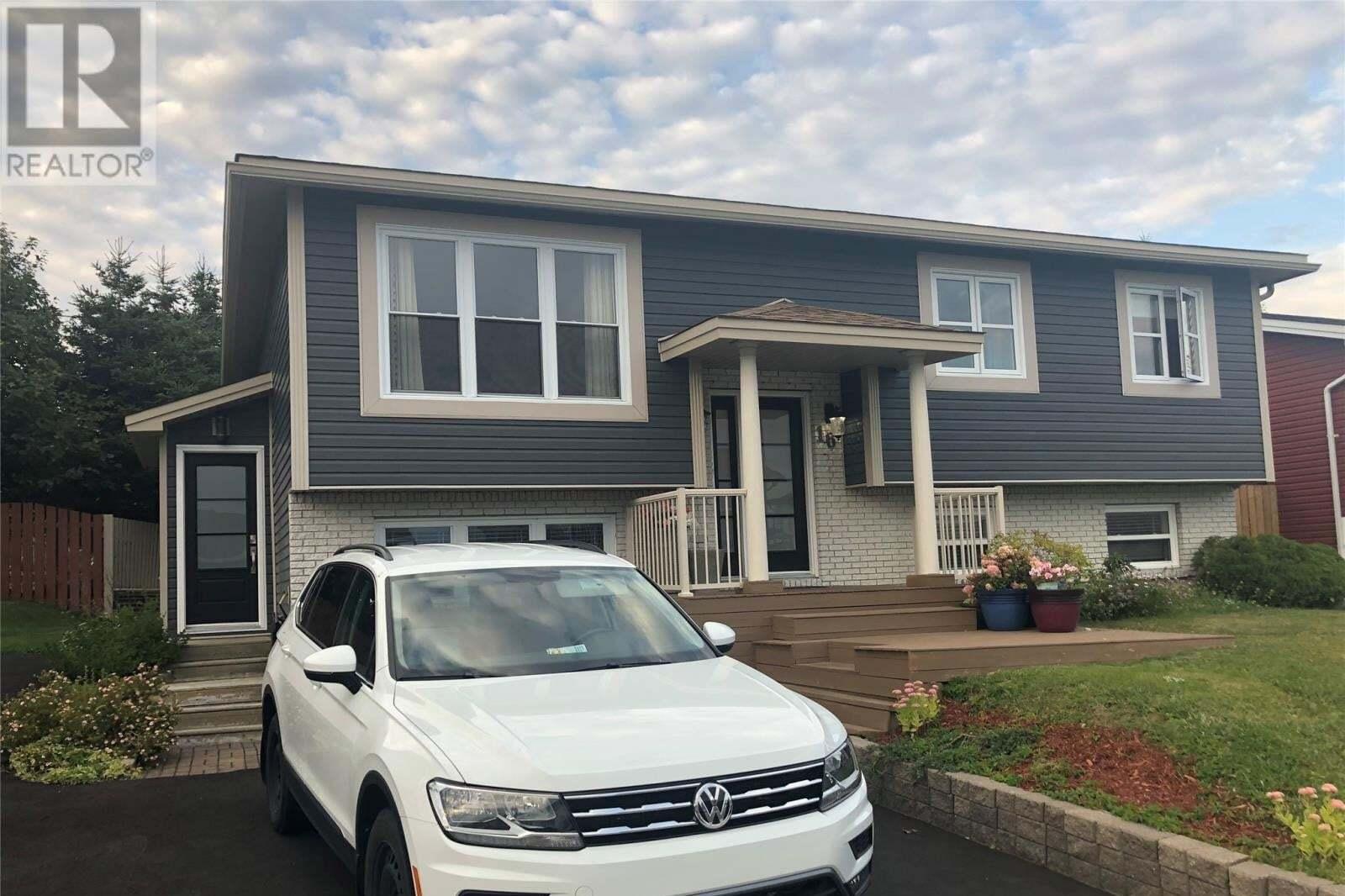 House for sale at 16 Point Verde Pl St. John's Newfoundland - MLS: 1221235