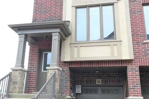 Townhouse for rent at 16 Pringle Ln Hamilton Ontario - MLS: X4714952
