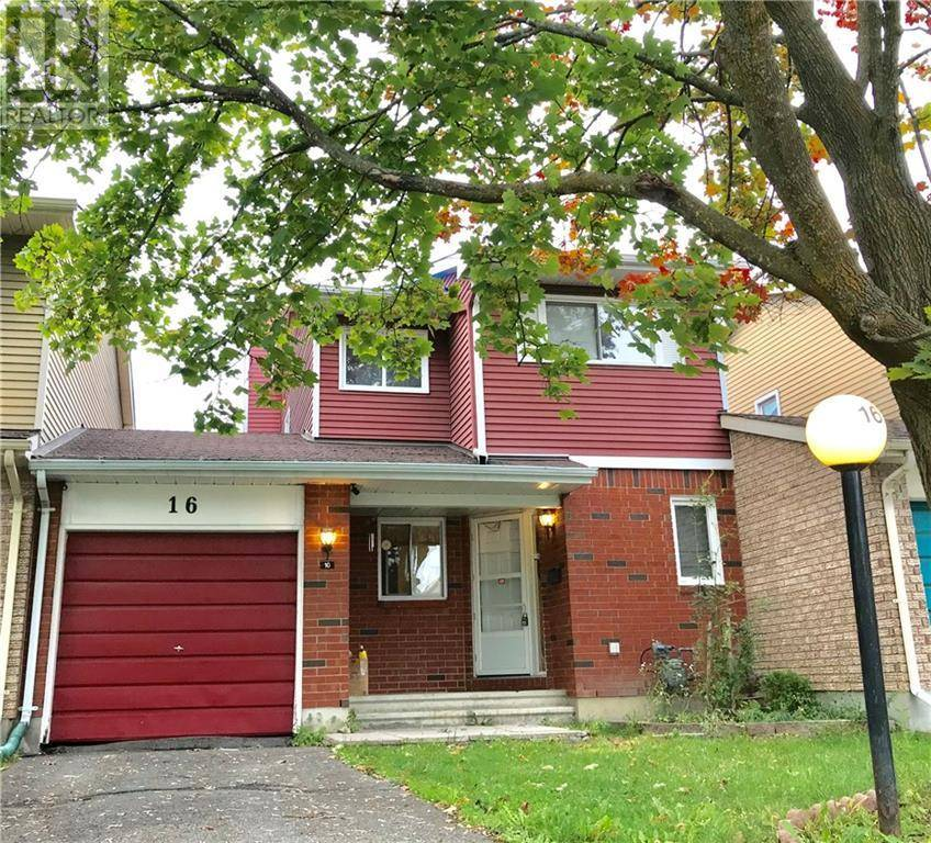 Townhouse for sale at 16 Sovereign Ave Ottawa Ontario - MLS: 1172429