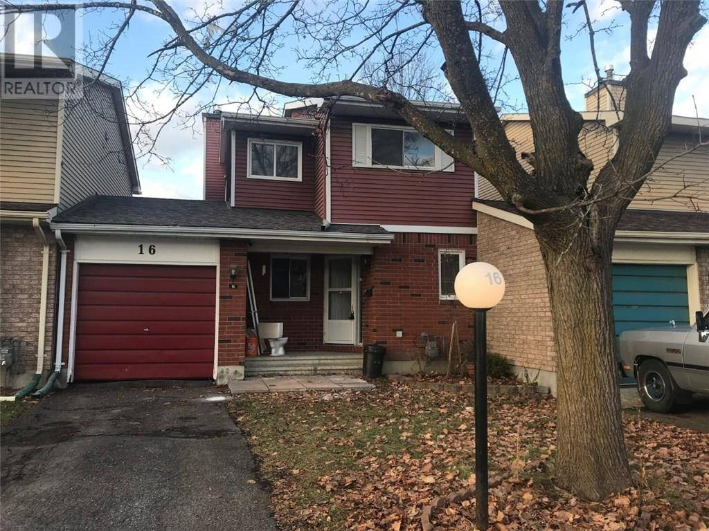 Townhouse for rent at 16 Sovereign Ave Ottawa Ontario - MLS: 1177048