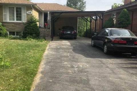 House for rent at 16 Stevenwood Rd Toronto Ontario - MLS: E4593500