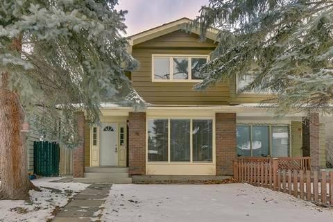 Townhouse for sale at 16 Sunhurst Cres Southeast Calgary Alberta - MLS: C4286093