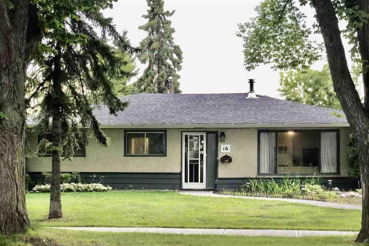 House for sale at 16 Sunset Bv St. Albert Alberta - MLS: E4212919