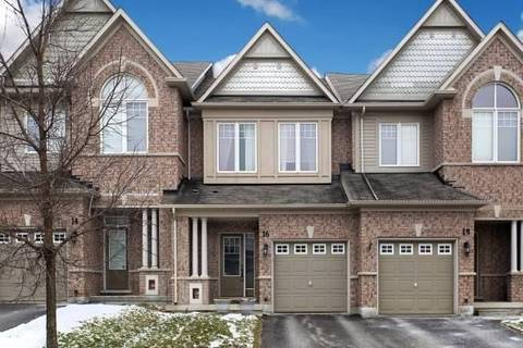 Townhouse for sale at 16 Thatcher Cres Newmarket Ontario - MLS: N4731561