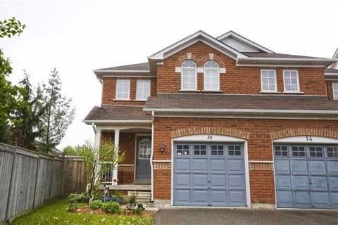 Townhouse for sale at 16 Todmorden Dr Brampton Ontario - MLS: W4392718