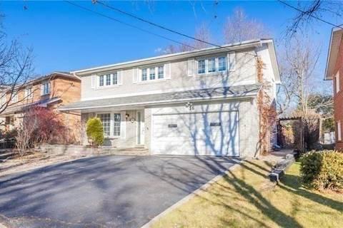 House for rent at 16 Warlock Cres Toronto Ontario - MLS: C4637466