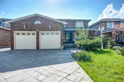 House for sale at 16 Whitetail Ct Vaughan Ontario - MLS: N4457156