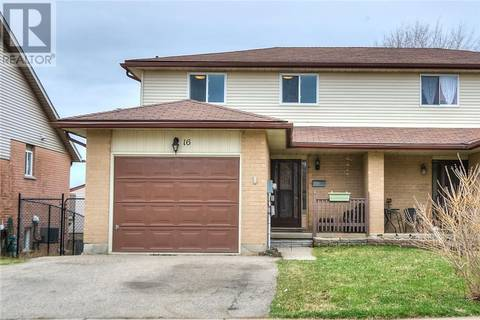 House for sale at 16 Windale Cres Kitchener Ontario - MLS: 30728845