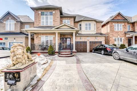 House for sale at 16 Yellow Avens Blvd Brampton Ontario - MLS: W4389712