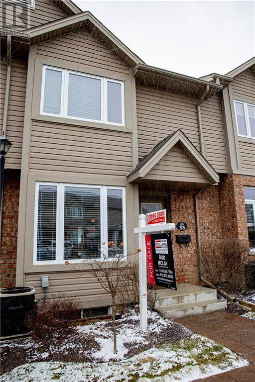 Townhouse for sale at 35 Mickleborough Dr Unit 1600 London Ontario - MLS: 240772