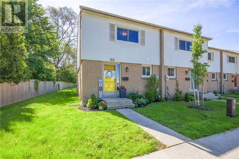 Townhouse for sale at 60 Culver Dr Unit 1600 London Ontario - MLS: 201593