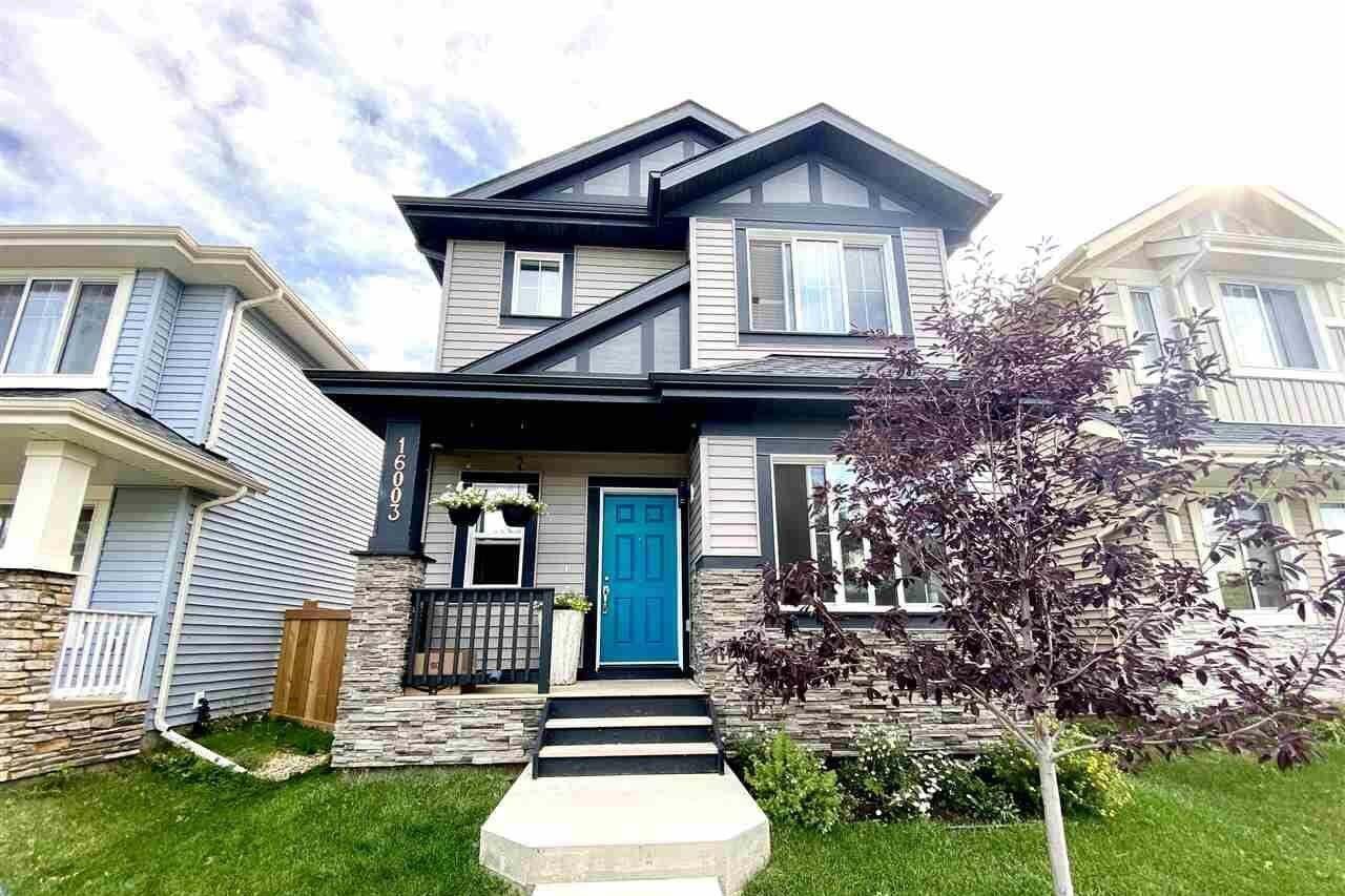 House for sale at 16003 13 Av SW Edmonton Alberta - MLS: E4212087