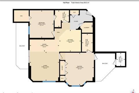 Condo for sale at 10649 Saskatchewan Dr Nw Unit 1601 Edmonton Alberta - MLS: E4163719