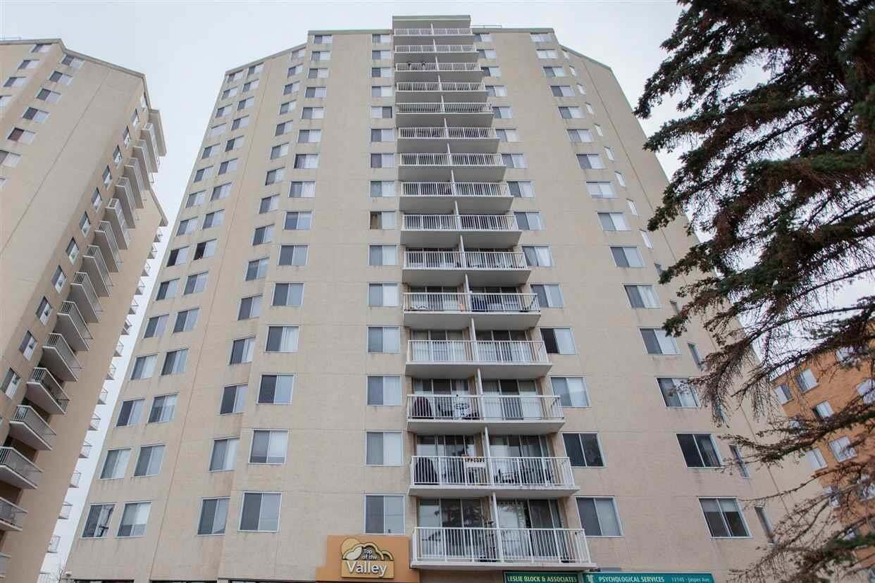 Condo for sale at 12141 Jasper Av NW Unit 1601 Edmonton Alberta - MLS: E4215674