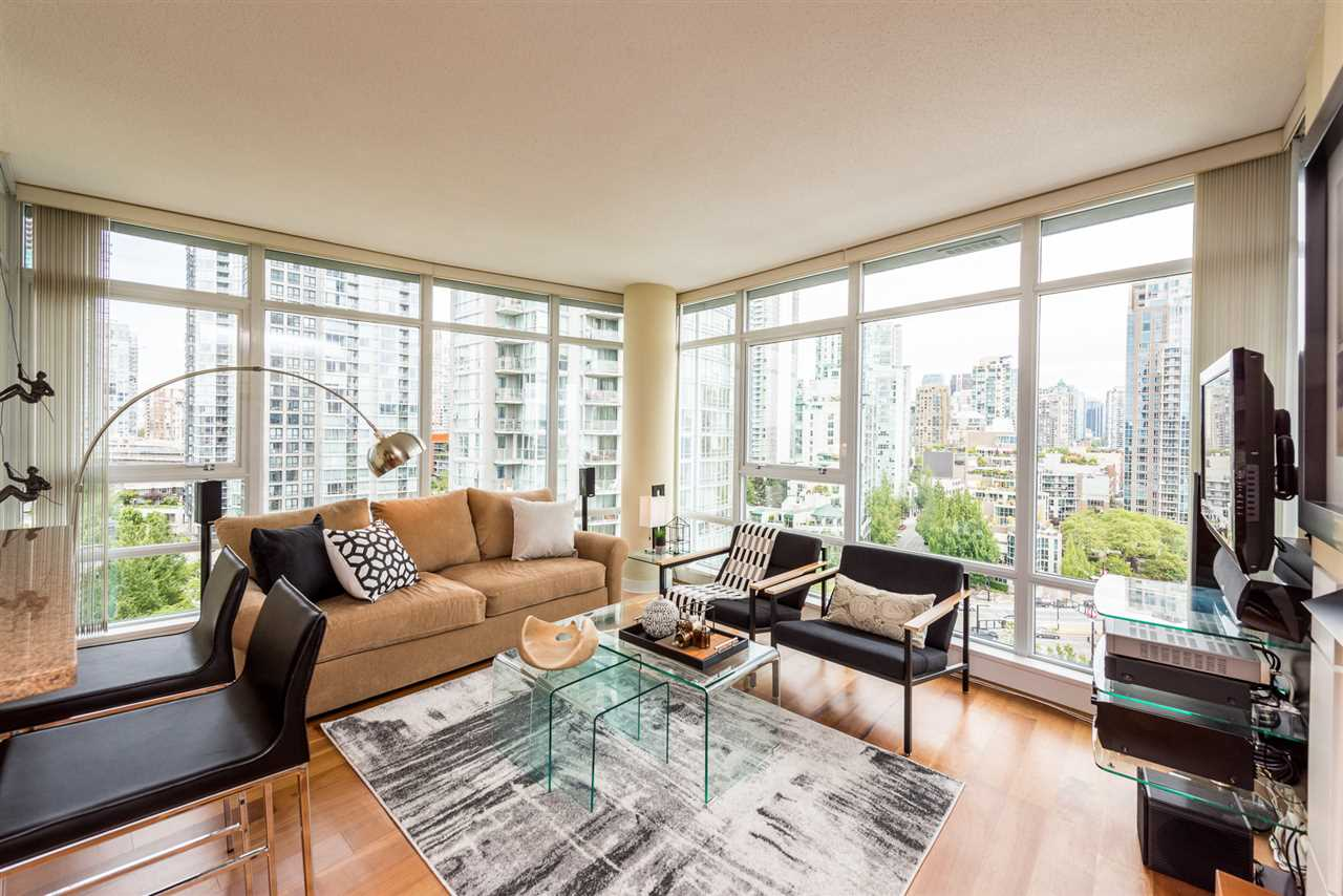 Sold: 1601 - 1483 Homer Street, Vancouver, BC