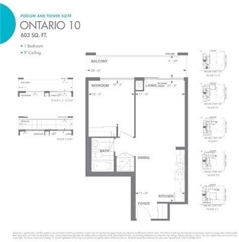 Apartment for rent at 460 Adelaide St Unit 1601 Toronto Ontario - MLS: C4646698