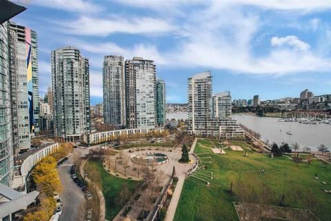 Condo for sale at 638 Beach Cres Unit 1601 Vancouver British Columbia - MLS: R2372405