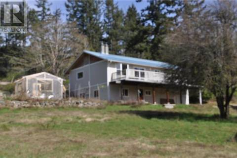 House for sale at 1601 Fulford-ganges Rd Salt Spring Island British Columbia - MLS: 407841