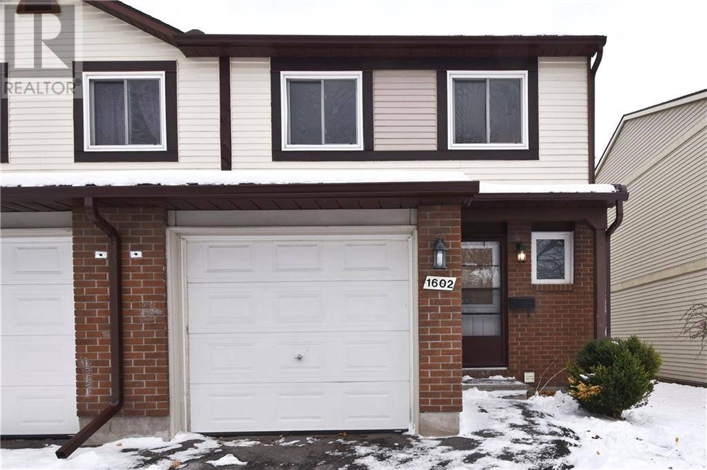 Townhouse for sale at 1602 Cheevers Cres Ottawa Ontario - MLS: 1175874