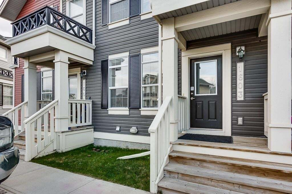 Townhouse for sale at 1001 8 St NW Unit 1603 Williamstown, Airdrie Alberta - MLS: C4293320