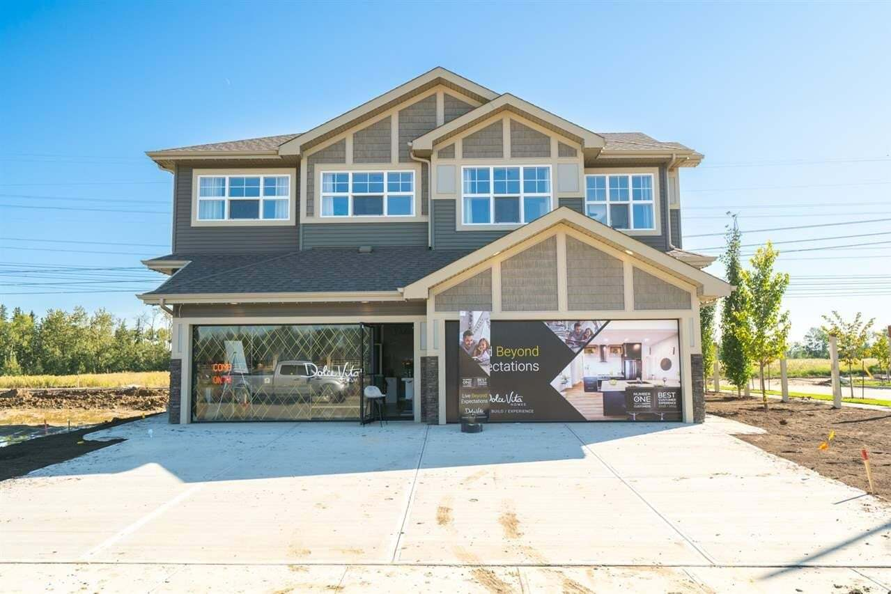 Townhouse for sale at 1603 Enright Wy NW Edmonton Alberta - MLS: E4194962