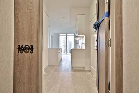 Apartment for rent at 576 Front St Unit 1603E Toronto Ontario - MLS: C4672726