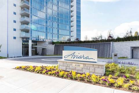 Condo for sale at 4189 Halifax St Unit 1605 Burnaby British Columbia - MLS: R2412577