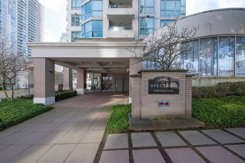 Condo for sale at 4788 Hazel St Unit 1605 Burnaby British Columbia - MLS: R2442286