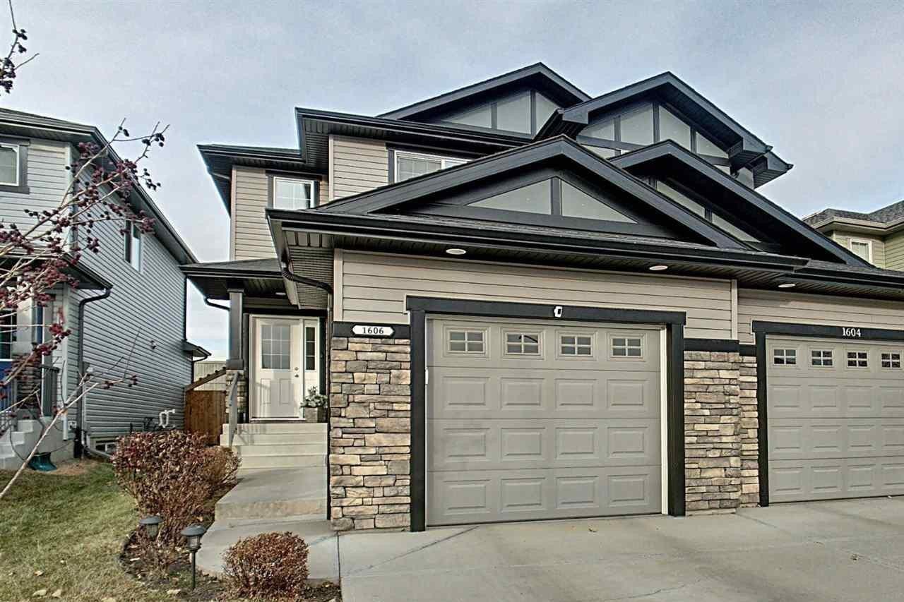 Townhouse for sale at 1606 152 Av NW Edmonton Alberta - MLS: E4220258