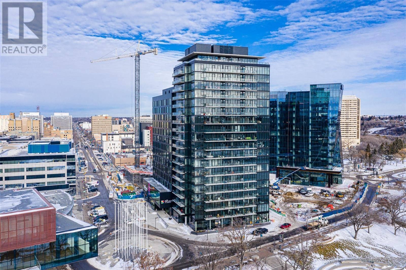 Condo for sale at 490 2nd Ave S Unit 1606 Saskatoon Saskatchewan - MLS: SK786422