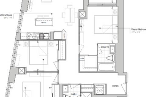 Apartment for rent at 386 Yonge St Unit 1607 Toronto Ontario - MLS: C4461848