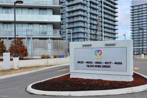 Residential property for sale at 4633 Glen Erin Dr Unit 1607 Mississauga Ontario - MLS: 30810853