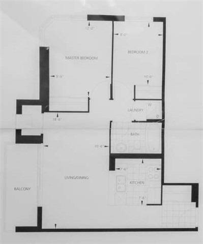 Apartment for rent at 5791 Yonge St Unit 1607 Toronto Ontario - MLS: C4623395