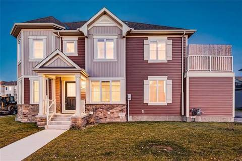 Townhouse for sale at 1607 Windstone Rd Southwest Airdrie Alberta - MLS: C4239439
