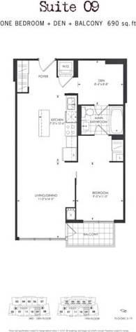 Apartment for rent at 26 Norton Ave Unit 1609 Toronto Ontario - MLS: C4699831