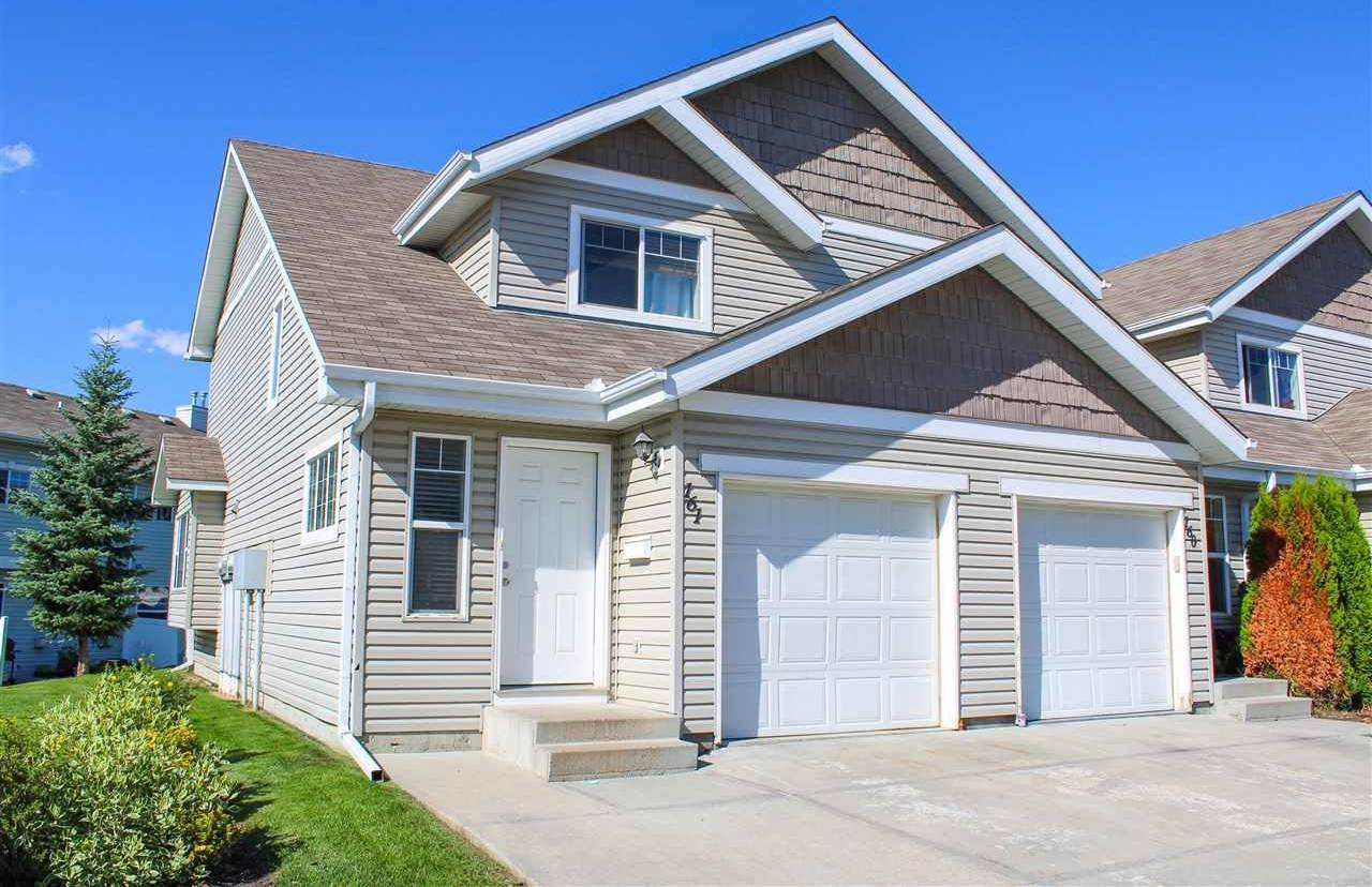 Townhouse for sale at 150 Edwards Dr Sw Unit 161 Edmonton Alberta - MLS: E4168851