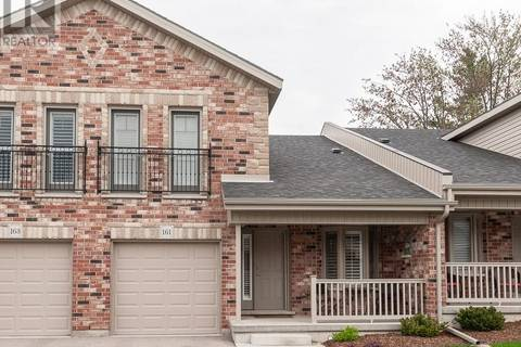 Townhouse for sale at 50 Galt Rd Unit 161 Stratford Ontario - MLS: 30736559