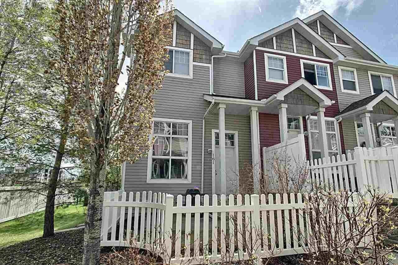Townhouse for sale at 5604 199 St NW Unit 161 Edmonton Alberta - MLS: E4197782