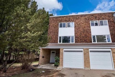 Townhouse for sale at 161 Great Oaks  Sherwood Park Alberta - MLS: E4154718