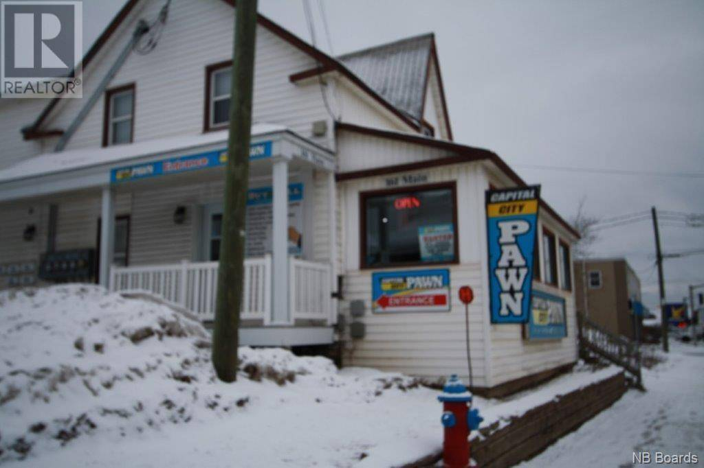 Commercial property for sale at 161 Main St Fredericton New Brunswick - MLS: NB042025