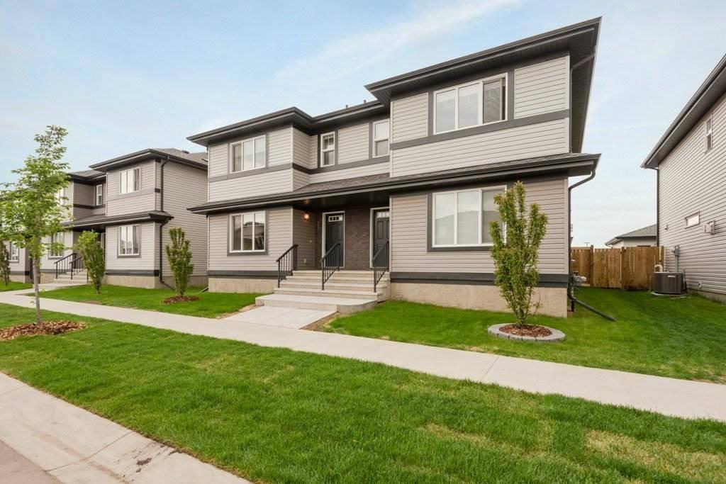 Townhouse for sale at 161 Radcliffe Wd Fort Saskatchewan Alberta - MLS: E4172252