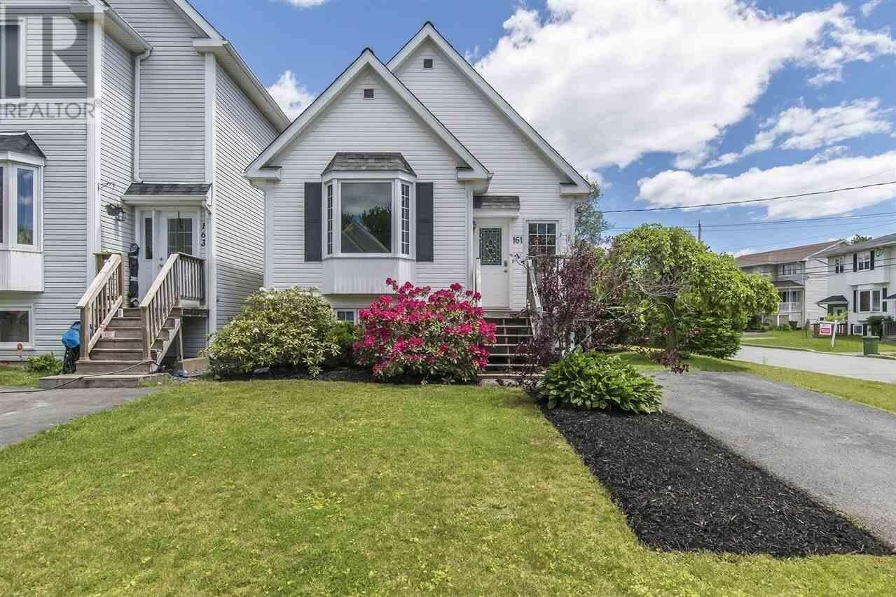 House for sale at 161 Silistria Dr Cole Harbour Nova Scotia - MLS: 202008758