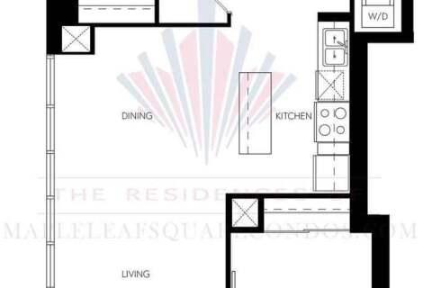 Apartment for rent at 55 Bremner Blvd Unit 1610 Toronto Ontario - MLS: C4959705