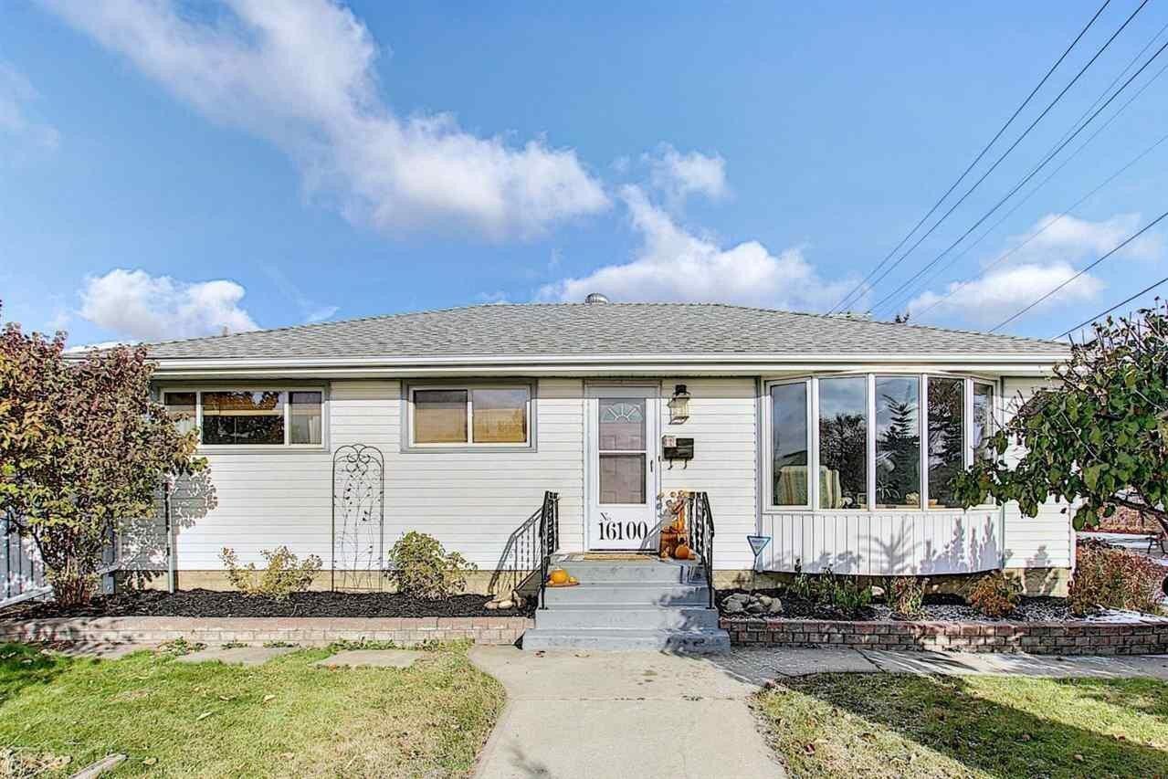 House for sale at 16100 110b Av NW Edmonton Alberta - MLS: E4218955