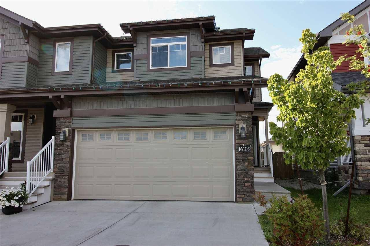 Townhouse for sale at 16109 10 Ave Sw Edmonton Alberta - MLS: E4172245