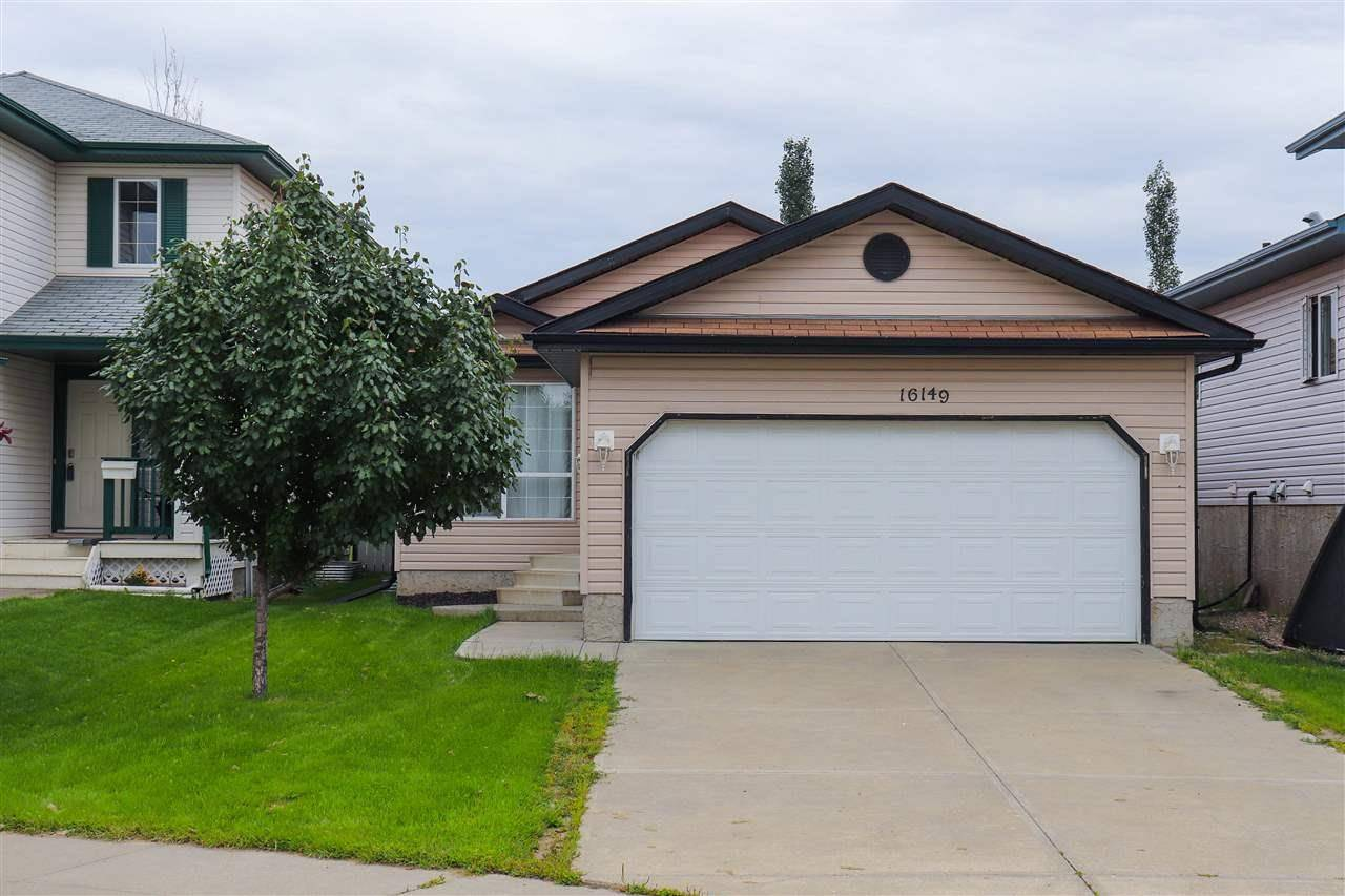 House for sale at 16149 128a St Nw Edmonton Alberta - MLS: E4169679