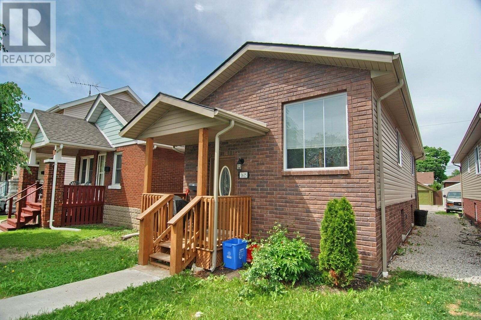 House for sale at 1615 Hall Ave Windsor Ontario - MLS: 20006289