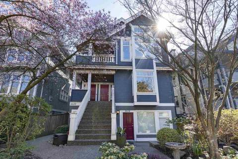 Townhouse for sale at 1616 Grant St Vancouver British Columbia - MLS: R2361317